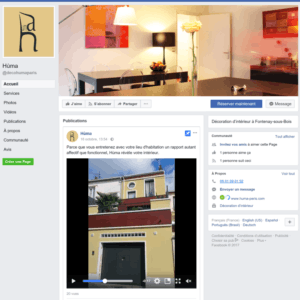 Animation sociale Facebook