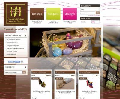 Boutique en ligne B2C