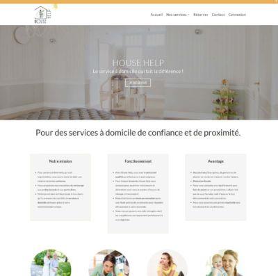 Site web prestataire de services